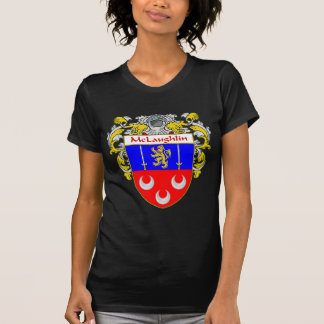McLaughlin Coat of Arms (Mantled) T-Shirt