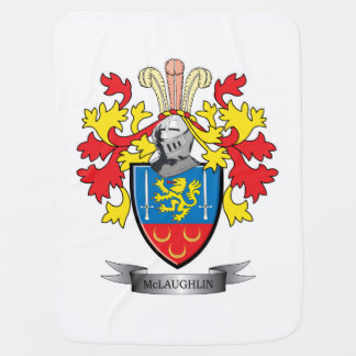McLaughlin Coat of Arms Stroller Blanket