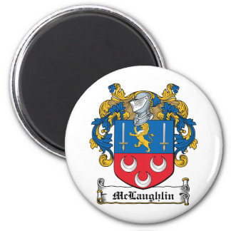 McLaughlin Family Crest Magnet