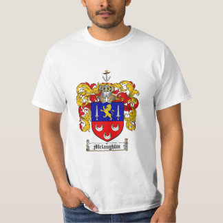 Mclaughlin Family Crest - Mclaughlin Coat of Arms Tshirts