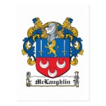 McLaughlin Family Crest Post Cards