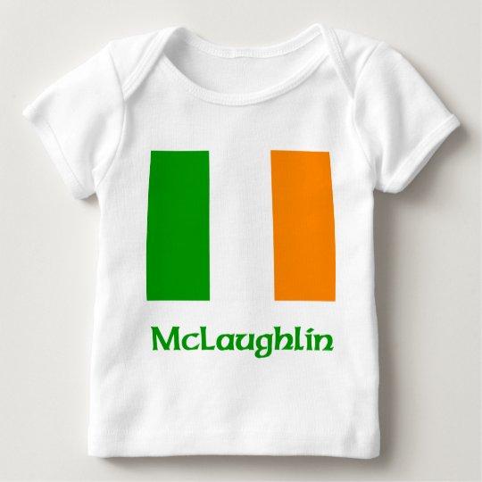 McLaughlin Irish Flag Baby T-Shirt