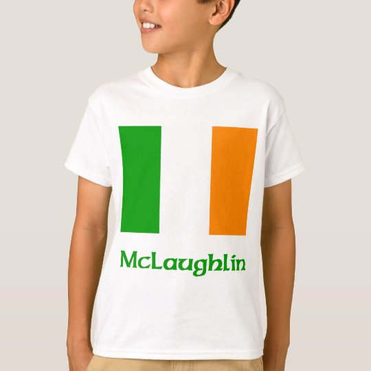 McLaughlin Irish Flag T-Shirt