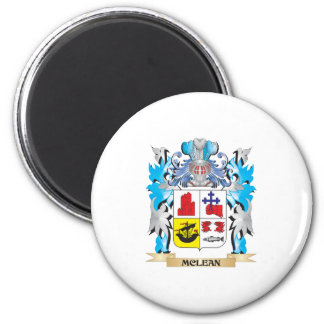 Mclean Coat of Arms - Family Crest Fridge Magnets