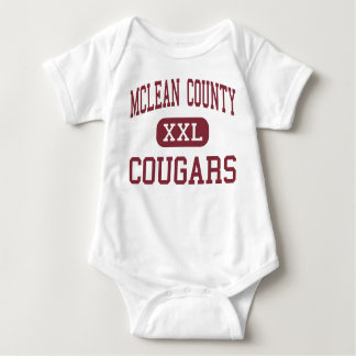 McLean County - Cougars - Middle - Calhoun Baby Bodysuit