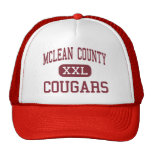 McLean County - Cougars - Middle - Calhoun Trucker Hat