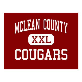 McLean County - Cougars - Middle - Calhoun Postcard