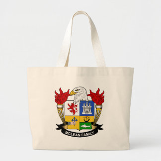 McLean Family Crest Tote Bag