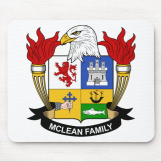 McLean Family Crest Mouse Pad