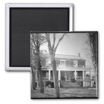 McLean's House, Appomattox Court-House.  Virginia, Magnet