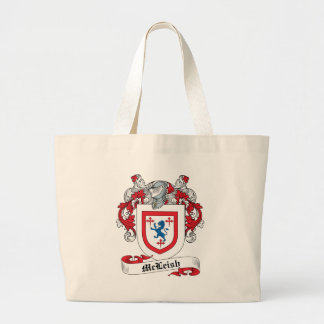 McLeish Family Crest Tote Bag