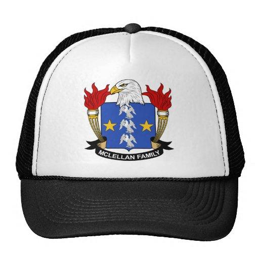McLellan Family Crest Hats