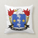 McLellan Family Crest Pillow