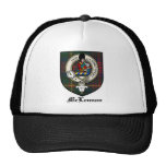 McLennan Clan Crest Badge Tartan Mesh Hats