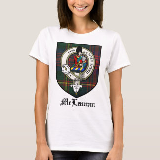 McLennan Clan Crest Badge Tartan T-Shirt