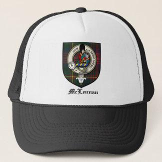 McLennan Clan Crest Badge Tartan Trucker Hat