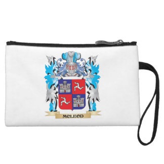 Mcleod Coat of Arms - Family Crest Wristlet Clutch