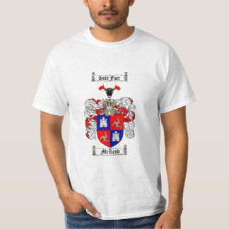 Mcleod Family Crest - Mcleod Coat of Arms Shirt