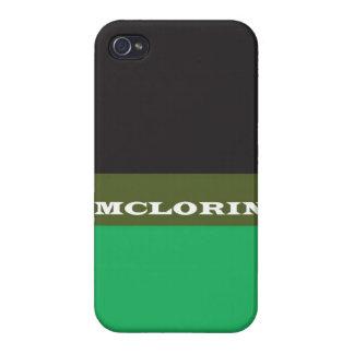 """McLorin"" iPhone 4 Case"