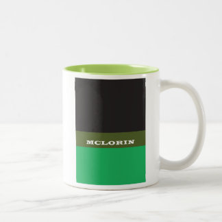 """""""McLorin"""" Two-Tone Coffee Mug"""
