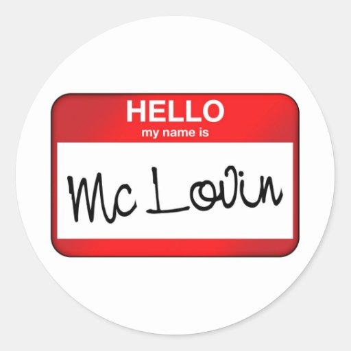 McLovin Etiquetas