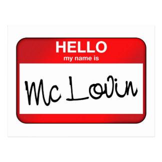McLovin Tarjeta Postal