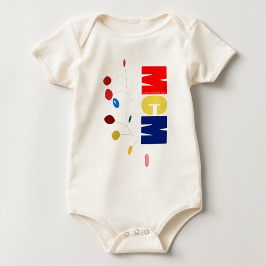 MCM Colorful Mobile Baby Bodysuit