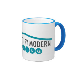 MCM Living Mug - Bright Blue 11 oz