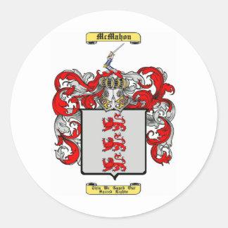 McMahon Classic Round Sticker