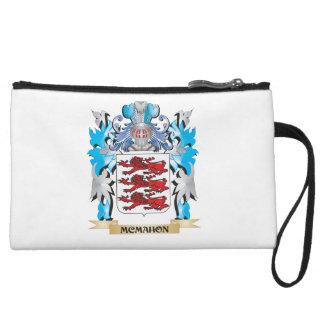 Mcmahon Coat of Arms - Family Crest Wristlet Clutches