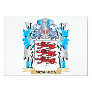 Mcmahon Coat of Arms - Family Crest 5x7 Paper Invitation Card