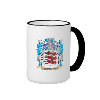 Mcmahon Coat of Arms - Family Crest Ringer Coffee Mug