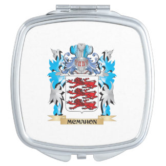 Mcmahon Coat of Arms - Family Crest Compact Mirrors