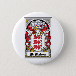 McMahon Family Crest Button