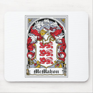 McMahon Family Crest Mouse Pad