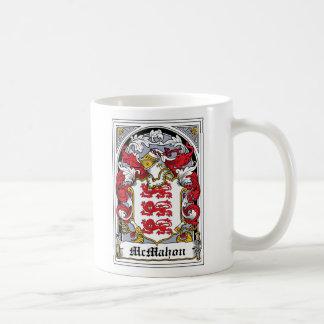 McMahon Family Crest Classic White Coffee Mug