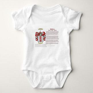McMahon (history) Baby Bodysuit