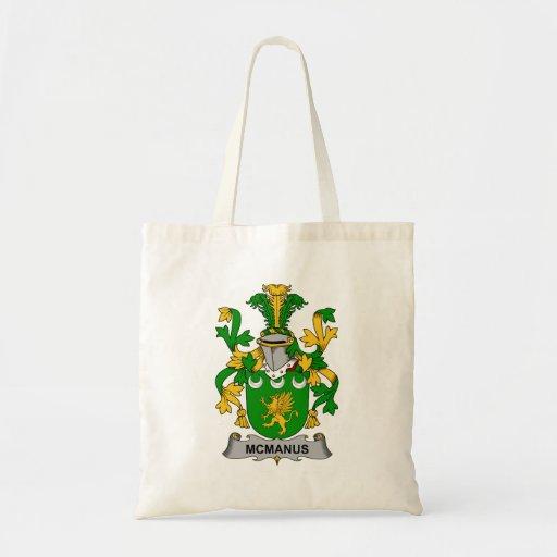 McManus Family Crest Canvas Bag