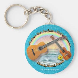 McMaster Slack Key Concerts Basic Round Button Keychain