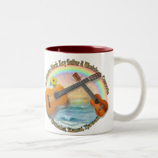 McMaster Slack Key Concerts Two-Tone Coffee Mug