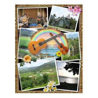McMasters Slack Key Concerts Postcard