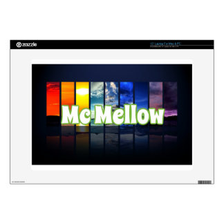"McMellow seasons merchandise 15"" Laptop Decals"