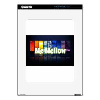 McMellow seasons merchandise iPad Skin