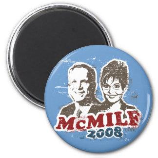 McMilf button 2 Inch Round Magnet