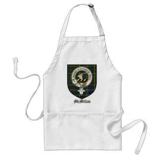 McMillan Clan Crest Badge Tartan Adult Apron