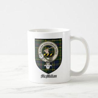 McMillan Clan Crest Badge Tartan Coffee Mug