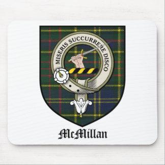 McMillan Clan Crest Badge Tartan Mouse Pad