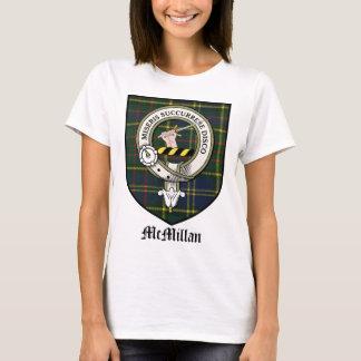 McMillan Clan Crest Badge Tartan T-Shirt