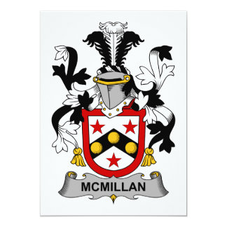 McMillan Family Crest Card