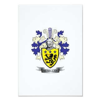 McMillan Family Crest Coat of Arms Card